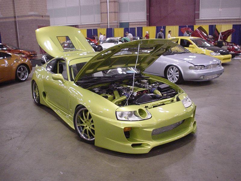 Уникальная Toyota Supra с V12 продается на аукционе